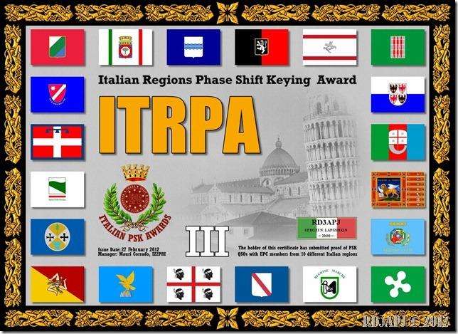 RD3APJ-ITPAI-ITRPAIII