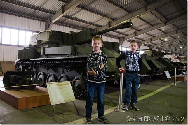Кубинка музей бронетанковых войск-23