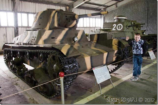 Кубинка музей бронетанковых войск-29