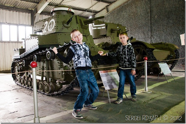 Кубинка музей бронетанковых войск-31