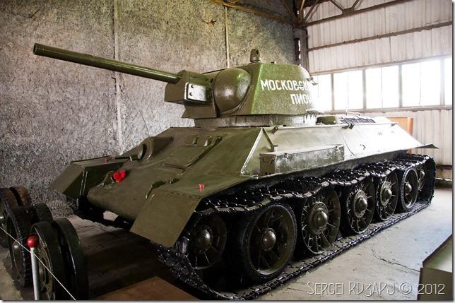 Кубинка музей бронетанковых войск-39