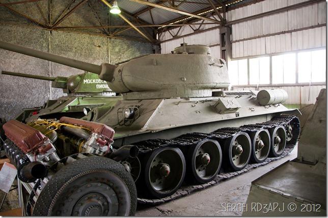 Кубинка музей бронетанковых войск-40