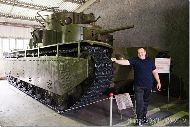 Кубинка музей бронетанковых войск-47