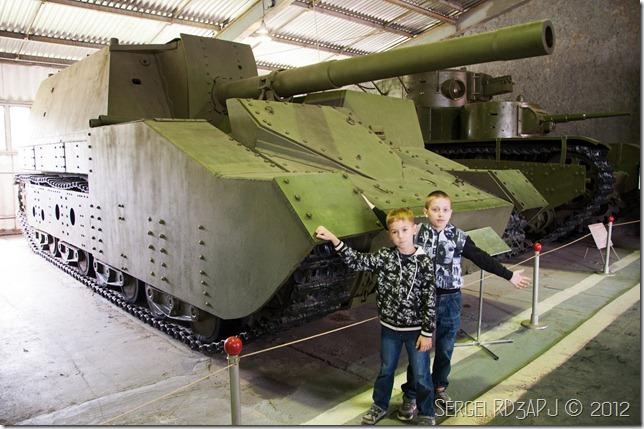 Кубинка музей бронетанковых войск-48