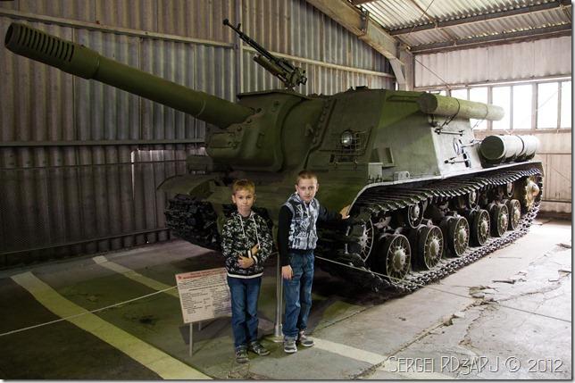 Кубинка музей бронетанковых войск-60