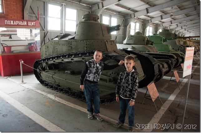 Кубинка музей бронетанковых войск-76