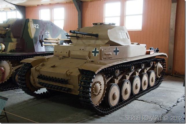 Кубинка музей бронетанковых войск-86
