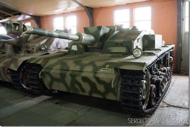 Кубинка музей бронетанковых войск-94