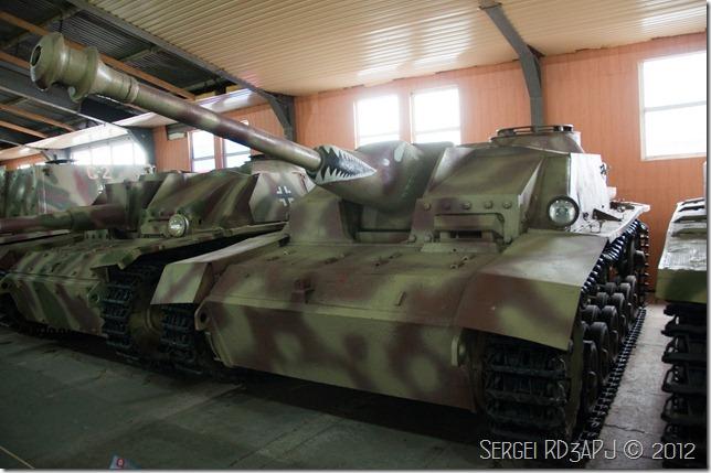 Кубинка музей бронетанковых войск-96